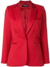 Styland - Blazer aderente - women - Silk/Nylon/Spandex/Elastane/Wool - XS, S, M, L - Rosso