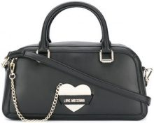Love Moschino - heart tote - women - Polyurethane - OS - BLACK
