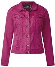 Cecil 210681 Hedda, Giacca in Jeans Donna, Rosa (Magic Pink 11277), 44