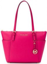 - Michael Michael Kors - Borsa shopper 'Jet Set' - women - pelle di vitello - Taglia Unica - di colore rosa