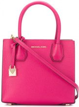 Michael Michael Kors - Mercer medium tote - women - Calf Leather - One Size - PINK & PURPLE