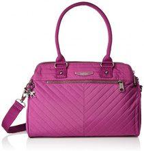 Kipling Sunbeam - Borse a secchiello Donna, Pink (Wild Pink), 34x24x15 cm (B x H T)