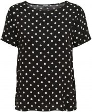 ONLY Loose Short Sleeved Top Women Black