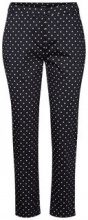 VERO MODA Dotted Ankle Trousers Women Blue