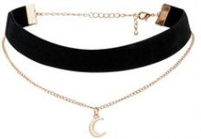 ONLY Velvet Choker Necklace Women Black