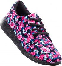 Sneaker a fiori (Nero) - bpc bonprix collection