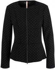 Marc Cain Additions HA 31.01 W37, Giacca Donna, Mehrfarbig (Black and White 910), 48
