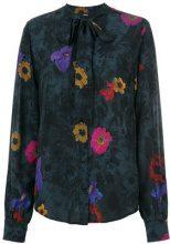 Diesel - Camicia con motivo a fiori - women - Viscose - XS - BLACK