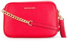 Michael Michael Kors - Borsa a tracolla 'Ginny' - women - Calf Leather - One Size - RED