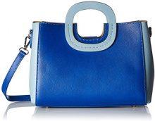 Chicca Borse 8652, Borsa a Mano Donna, Blu (Blue Sky), 28x22x10 cm (W x H x L)