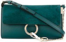 Chloé - Borsa a tracolla mini 'Faye' - women - Calf Leather - OS - GREEN
