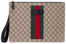 Gucci - Borsa 'GG Supreme' - men - Canvas/Nylon - One Size - NUDE & NEUTRALS