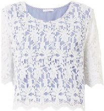 Top Iblues  ZUFOLO Top e T-shirt Donna Bianco