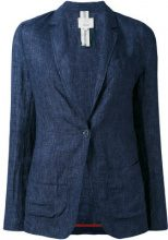 Diega - Blazer con bavero classico - women - Linen/Flax - S - BLUE
