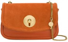 See By Chloé - Lois shoulder bag - women - Calf Leather - OS - Giallo & arancio