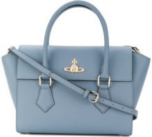 Vivienne Westwood - small Pimlico tote - women - Calf Leather - OS - BLUE