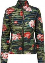 ONLY Flower Printed Quilted Jacket Women Green