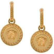 Versace - Orecchini 'Medusa' - women - Brass - One Size - METALLIC