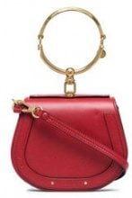 Chloé - Borsa 'Nile' piccola - women - Leather/Suede - One Size - RED