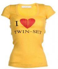 TWIN-SET Simona Barbieri  - TOPWEAR - T-shirts - su YOOX.com
