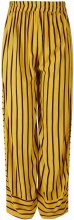 Y.A.S Striped Wide Trousers Women Yellow