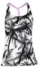Evelyn Fit Palm Print Running Vest