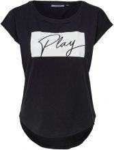 ONLY Printed Sports Top Women Black