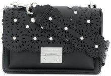 Rebecca Minkoff - Borsa a spalla 'Christy' - women - Leather - OS - BLACK