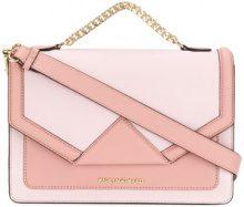 Karl Lagerfeld - Borsa a spalla 'K/Klassik' - women - Calf Leather - One Size - PINK & PURPLE