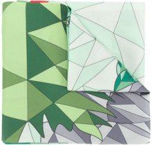 Cha•Val Milano - Foulard con motivo geometrico - women - Silk - OS - MULTICOLOUR