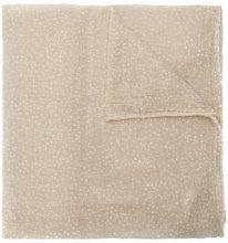 Faliero Sarti - dotted scarf - women - Cotton/Polyamide - OS - NUDE & NEUTRALS