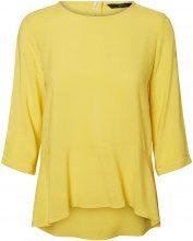 VERO MODA Frill 3/4 Sleeved Blouse Women Yellow