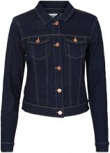 NOISY MAY Short Denim Jacket Women Blue