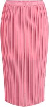 Y.A.S Pink Pleated Midi Skirt Women Pink