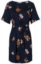 PIECES Short Sleeved Dress Women Blue