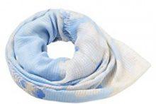 ESPRIT Accessoires 038ea1q022, Sciarpa Donna, Blu (Light Blue 440), Unica (Taglia Produttore: 1SIZE)