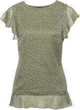 Blusa con maniche a pipistrello (Verde) - BODYFLIRT