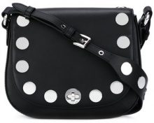 Michael Michael Kors - studded crossbody bag - women - Leather/Metal (Other) - One Size - BLACK