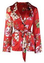 Henrietta Floral Print Suit Blazer