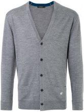 Loveless - Cardigan aderente - men - Wool - 1, 2, 3 - GREY