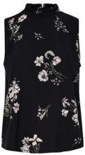 ONLY Flower Printed Sleeveless Top Women Black