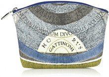 Gattinoni Gacpu0000144, Pochette da Giorno Donna, Blu (Luna), 6x15x21 cm (W x H x L)