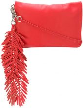 P.A.R.O.S.H. - Borsa Clutch 'Coral' - women - Leather - OS - Rosso