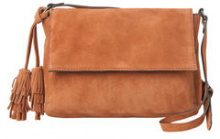 PIECES Suede Crossbody Bag Women Brown