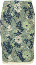 COOHEM - Botanical Jacquard skirt - women - Polyester/Cotton/Acrylic/Nylon - 36 - MULTICOLOUR