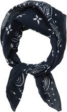 PIECES Small Printed Scarf Women Blue