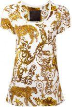 Philipp Plein - Barok T-shirt - women - Cotton - XS - WHITE