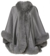 Liska - Mantella - women - Fox Fur/Cashmere - OS - GREY