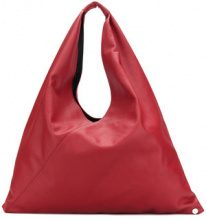 Mm6 Maison Margiela - Borsa Tote 'Japanese' - women - Calf Leather/Polyester - OS - RED