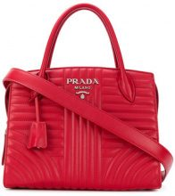 Prada - Esplanade quilted tote bag - women - Leather - One Size - RED